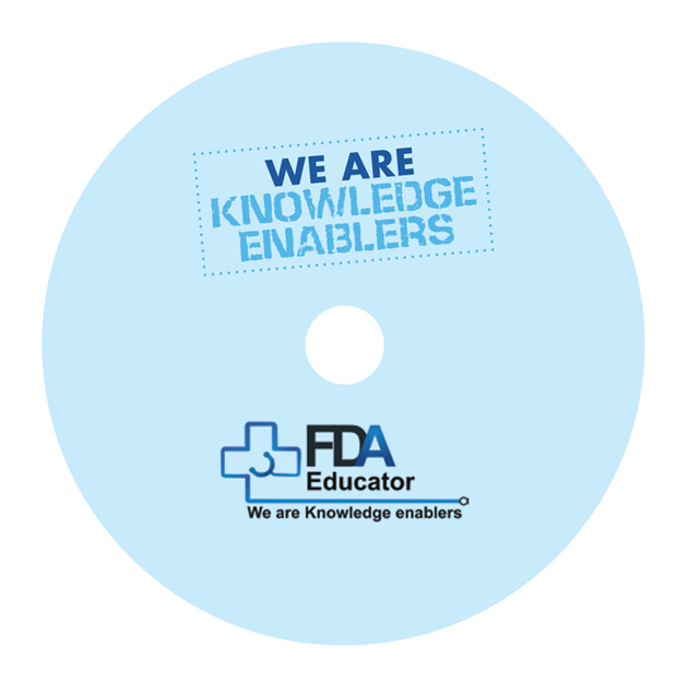 Fda Educator  Docket Folder Cd Label  Cover  Nisha Albuquerque